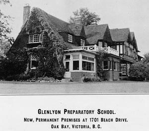 Original Glenlyon brochure cover
