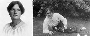 Miss Julia McDermott and Miss Dora Atkins